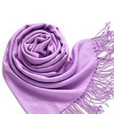 Ulasan Lengkap Tentang Wanita S Scarf Pashmina Cashmere Silk Selendang Selendang Bungkus 70 170 Cm Ungu
