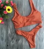 Toko Women S Summer B*k*n* Suits S*xy Style Swimming Set Fashion Surf Suits 2Pcs Orange Intl Online