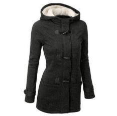 Jual Perempuan Hangat Musim Dingin Jaket Mantel Panjang Bertudung Seksi Pakaian Bersepeda Termurah