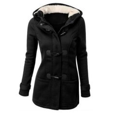 Jual Womens Warm Winter Hooded Long Section Jacket Outwear Coat Intl Murah Indonesia