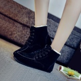 Promo Womens Winter Casual Ankle Boots Hangat Menebalkan Salju Boots Soft Sole Intl Not Specified Terbaru
