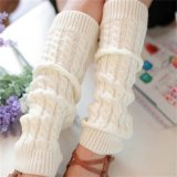 Womens Winter Knit Crochet Rajutan Leg Warmers Legging Boot Cover Fashion Putih Intl Oem Diskon 40
