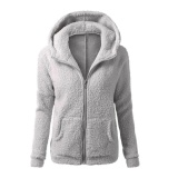 Beli Womenthickfeece War Winter Coat Hooded Parka Mantel Jackset Pakaian Bersepeda Internasional Kredit Hong Kong Sar Tiongkok