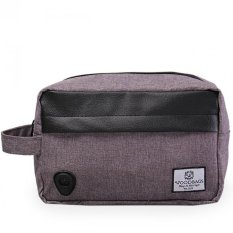 Tips Beli Woodbags Pouch Bag Grey