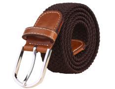 Woppk Unisex Dikepang Elastis Peregangan Karet String Belt-Intl By Wopplkj.