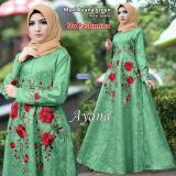 Kualitas Wow Keren Baju Muslim Gamis Syarii Maxi Muslim Gamis Ayana Non Label