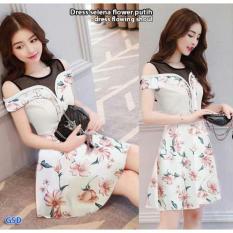 Wow Keren - Dress Bunga pendek/Dress mini/Dress cantik/dres wanita  Selena