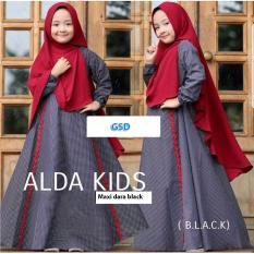 Wow keren - Maxi anak anak - dress anak / baju anak / muslim anak / hijab anak / maxi alda