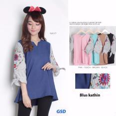 Wowkeren - Blouse wanita/Kemeja wanita/atasan/baju wanita/blus fashion khatin