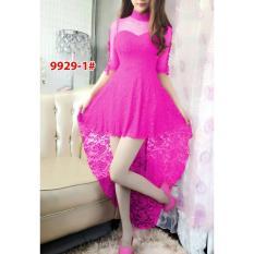 Wowkeren Dress impor / Minidress brukat / Dress pesta Abg / Dress brukat pesta / baju