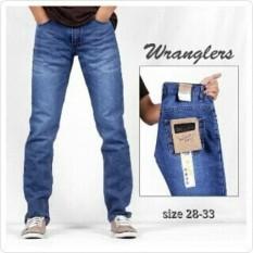 Wrangler Jeans pria / celana jeans wrangler
