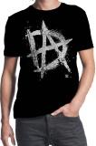 Harga Wwe Dean Ambrose Inisial Tidak Stabil Desain Custom Fashion Mens Cotton T Shirt Hitam Asli Custom T Shirt