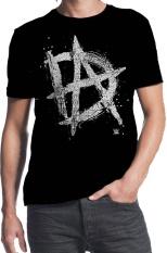 Ongkos Kirim Wwe Dean Ambrose Inisial Tidak Stabil Desain Custom Fashion Mens Cotton T Shirt Hitam Di Tiongkok