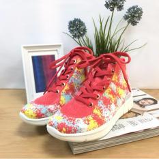 Dimana Beli Wypex Kamuflase Sepatu Kasual Gaotong Merah Wypex Shoes
