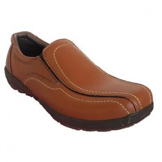 Beli X Cuppee Jg 079 Casual Formal Shoes Coklat Camel Lengkap