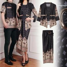 Jual Xavier Couple Desi Hitam Tq Branded Original
