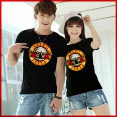 xavier couple T-shirt GNS Baju Couple Stripe Two Tone - Navy / Kaos Oblong / Kaos Pasangan / Kaos Couple / Pakaian Kembar / Baju Muslim Wanita / Baju Muslim Pria / Couple  / Kaos Oblong / Cotton Combed Pasangan
