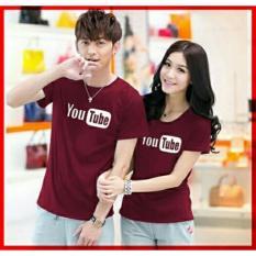 xavier couple T-shirt YT maroon Baju Couple  / Kaos Oblong / Kaos Pasangan / Kaos Couple / Pakaian Kembar / Baju Muslim Wanita / Baju Muslim Pria / Couple / Kaos Oblong / Cotton Combed Pasangan