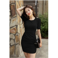 Xavier dress Tania hitam Dress Wanita simple / Spandek Maxi / Pantai Terusan / Gaun Panjang / dress diatas lutut / dress korea / dress fashion