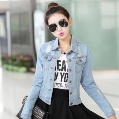 Toko Xavier Jaket Denim Oversize Jacket Jeans Wanita Premium Bomber Parka Loech Ingefr Jaket Jeans Jins Jaket Wanita Jaket Korea Dki Jakarta