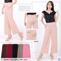Beli Xavier Kulot Emily Pink Xv Celana Panjang Cullote Kulot Panjang Polos Wanita Long Pants Citra Kulot Di Dki Jakarta