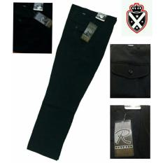 Xellano Celana Formal Albert - Regularfit - Standart - Hitam
