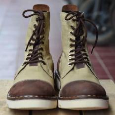 Xerum Stygma  Sepatu Boot Kulit Asli Untuk Pria Keren - X7nqpm