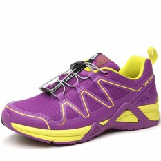 XIANG GUAN Menjalankan Sepatu untuk Wanita Pelatih Atletik Sepatu-Ungu-Intl