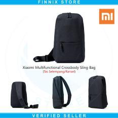 Jual Xiaomi Multifunctional Crossbody Bag Sling Bag Tas Selempang Dark Grey Xiaomi