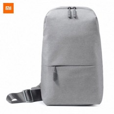 Xiaomi Sling Bag Original Light Gray Abu Terang