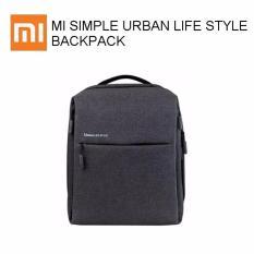 Xiaomi Urban Lifestyle Leisure Backpack Original 100% Dark Gray