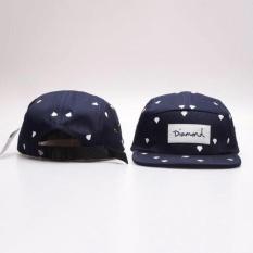 Xkp Desain Fashion 20 Gaya Lima 5 Panel Diamond Snapback Caps Hip Hopcap Flat Hat Topi Untuk Pria Blue Intl Oem Diskon 40