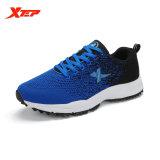Spesifikasi Xtep 2016 Gaya Menenun Pria Olahraga Menjalankan Sepatu Sneakers Trail Mens Olahraga Pelatih Terang Ringan Sepatu Biru Hitam Intl