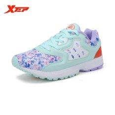 Harga Xtep Brand Light Menjalankan Sepatu Wanita Outdoor Olahraga Kulit Sepatu Pelatih Ladies Redaman Athletic Rubber Sneaker Biru Merah Intl Lengkap