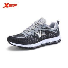 Review Xtep Baru Tiba Pria Fashion Sport Sneakers Low Top Menjalankan Sepatu Pria Athletic Outdoor Sport Sepatu Intl Xtep