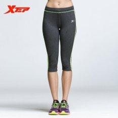 Beli Xtep Baru Wanita Olahraga Profesional Cepat Kering Menjalankan Yoga Tank Celana Internasional Lengkap