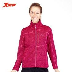 Beli Barang Xtep Baru Womens Fleece Jacket Pakaian Womens Fashion Jaket Coat Female Top Kualitas Pakaian Kasual Intl Online