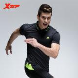 Harga Xtep Kaus Eksklusif Terbaru Pakaian Sporting T Shirt Mens Bodybuilding T Shirt Otot Gym Tenis Shirt Panas Wanita Hitam Intl Terbaru