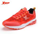 Xtep Merek Menjalankan Sepatu Mens Sneaker Atletik Pelari Pelatih Air Cushion Redaman Non Slip Olahraga Sepatu Merah Hitam Intl Asli