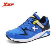 Spesifikasi Xtep Merek Sepatu Running Sepatu Untuk Pria 2016 Gaya Musim Panas Man Sneakers Dengan Ventilasi Udara Atletik Pria Trainer Biru Hitam Intl