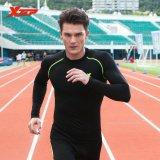 Spek Xtep Lengan Panjang Menjalankan T Shirt For Pria O Leher Bernapas Cepat Kering Jersey Olahraga Kompresi Kebugaran Kemeja Pria Hitam Hijau