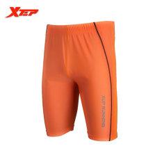 Toko Xtep Mens Athletic Sports Running Shorts Spandex Marathon Table Tennis Man Short Orange Intl Yang Bisa Kredit