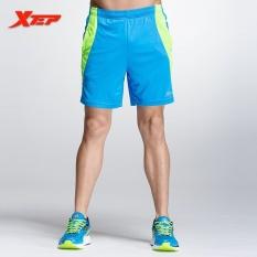 Jual Xtep Pria S*xy Celana Pendek Lari Pria Menjalankan Sport Athletic Bang Pendek Dalam Meja Poliester Celana Pendek Tenis Marathon Shorts Biru Murah
