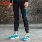 Harga Xtep Mens Tight Sport Pants Ankle Panjang Kompresi Dasar Lapisan Marathon Celana Lari Pakaian Gym Celana Panjang Bersepeda Hitam Biru Intl Satu Set