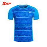 Jual Beli Xtep Baju Lari Untuk Pria Athletic Pakaian Polyster Tops Fit Olahraga Kemeja Cepat Kering Pria Kemeja Sportswears Biru Intl