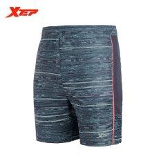 Toko Xtep Running Sports Shorts For Men Workout Training Soccer Shorts Black Orange Intl Online Di Tiongkok