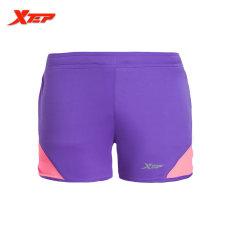 Tips Beli Xtep Wanita Celana Pendek Lari 2016 Summer Athletic Olahraga Pendek Kaos Ukuran Lebih Ungu International