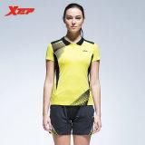 Harga Xtep Bernapas Cepat Kering Bulutangkis Setelan Keringat Penyerapan Sportwear Running Pendek Kuning Intl Termurah