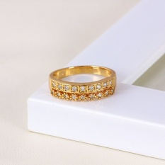 Toko Xuping Sj0648 Cincin 18K Gold Plated Xuping Di Riau Islands