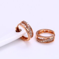 Jual Beli Xuping Sj0926 Anting 18K Gold Plated Baru Riau Islands
